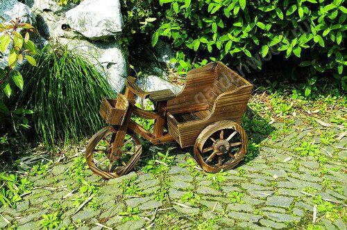 Кашпо для цветов велосипед купить